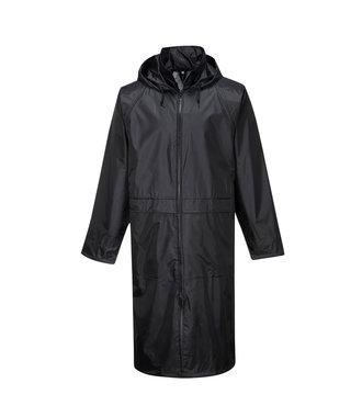 S438 - Classic Adult Rain Coat - Black - R