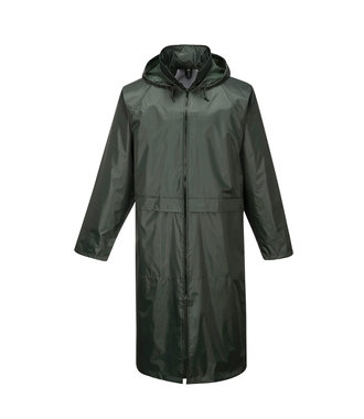 S438 - Classic Adult Rain Coat - Olive - R