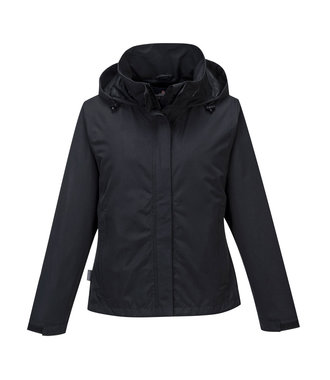 S509 - Ladies Corporate Shell Jacket - Black - R