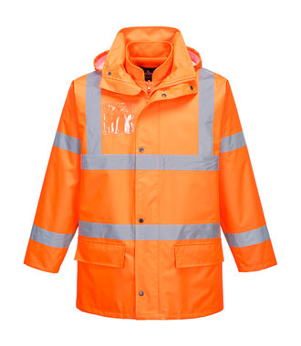 S765 - Hi-Vis Essential 5-in-1 Jacket - Orange - R