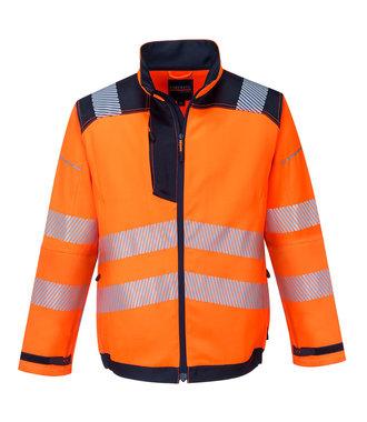 T500 - PW3 Hi-Vis Work Jacket - OrNa - R