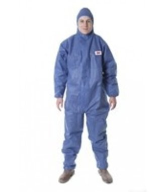 3M disposable overall 4515 blauw - type 5/6
