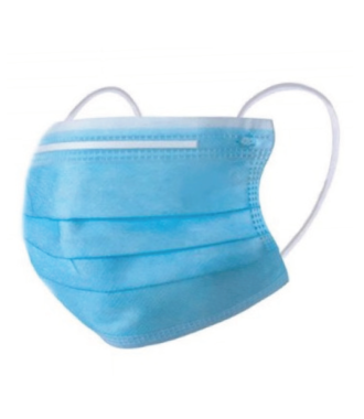 Surgical Mask Non woven with ear loops, EN14683 Type IIR