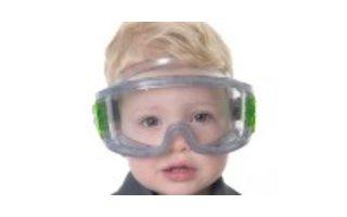 veiligheidsbrillen en gelaatsschermen
