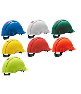 Peltor G3000 safety helmet with ratchet