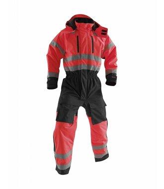 Combinaison hiver haute-visibilité classe 3 : Rouge/Noir - 676319775599
