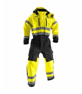 Winter overall, High visibility Yellow/Black