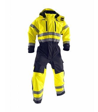High Vis Warnschutz-Winteroverall Kl. 3 : Gelb/Marineblau - 676319773389