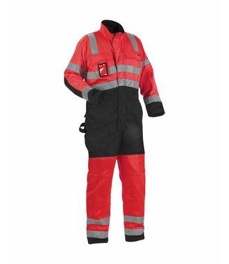 Combinaison haute-visibilité classe 3 : Rouge/Noir - 637318045599