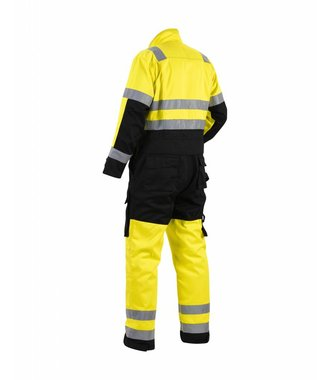High-visibility overall Yellow/Black