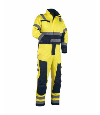 Multinorm Winter Overall Yellow/navy blue