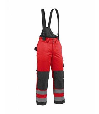 Pantalon hiver haute-visibilité : Rouge/Noir - 188519775599