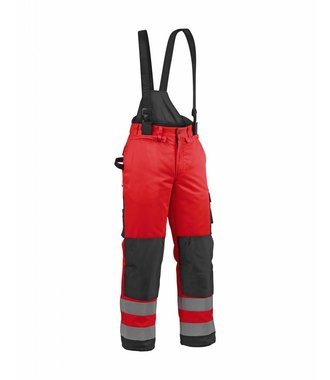 Winter high vis trouser Red/black