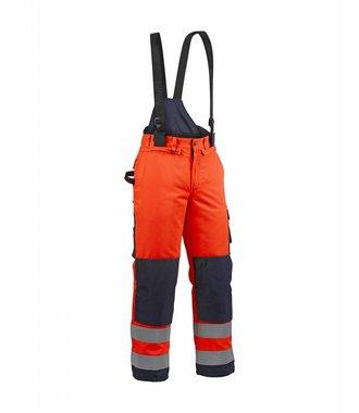 Pantalon hiver haute-visibilité : Orange/Marine - 188519775389