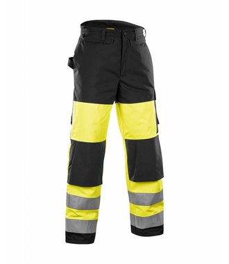 High vis Winter Trousers Yellow/Black