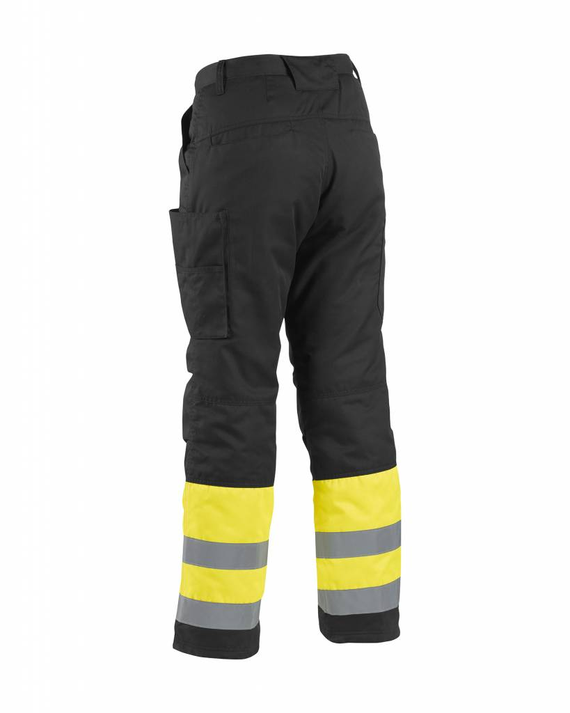c09aebbf6fb Blaklader - Blåkläder Pantalon Haute-Visibilité Hiver   Jaune Noir -  186218113399