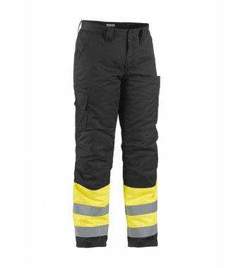 Pantalon Haute-Visibilité Hiver : Jaune/Noir - 186218113399