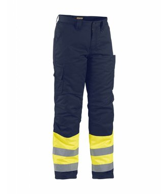 Pantalon Haute-Visibilité Hiver : Jaune/Marine - 186218113389