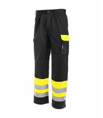 Pantalon HV Classe 1 : Jaune/Noir - 158418603399