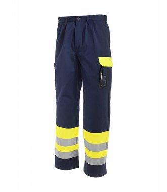 Pantalon HV Classe 1 : Jaune/Marine - 158418603389