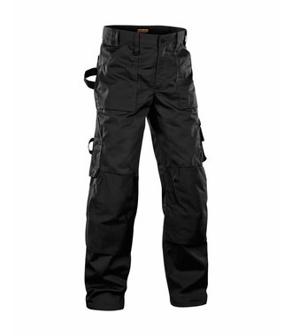 Trousers without Nailpockets Black