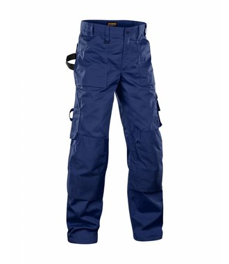 Trousers without Nailpockets Navy blue