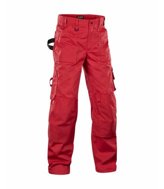 Trousers without Nailpockets Red
