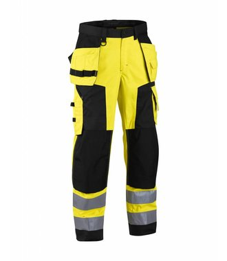 Highvisibility craftsman trouser Yellow/Black