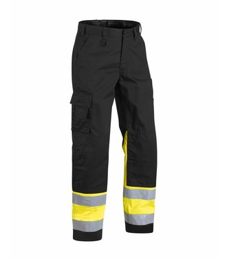 Highvisibility trouser Black/Yellow