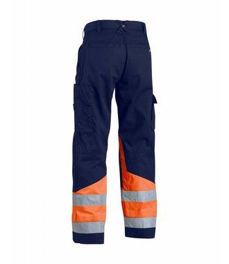 Pantalon Haute Visibilité : Marine/Orange - 156418118953