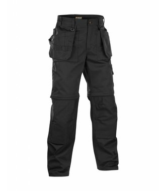 ZIP-OFF TROUSERS Black