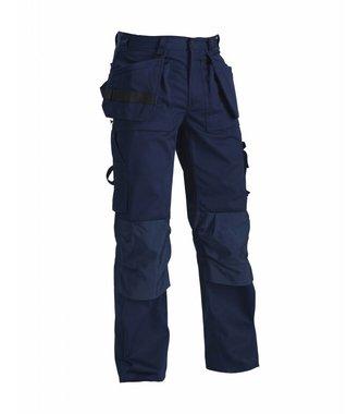 Pantalon Artisan Poches Libres : Marine - 153018608900