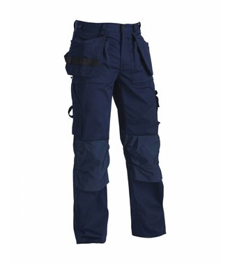 TROUSERS Navy blue