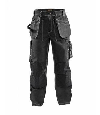 Pantalon Artisan Poches Libres : Noir - 153013709900