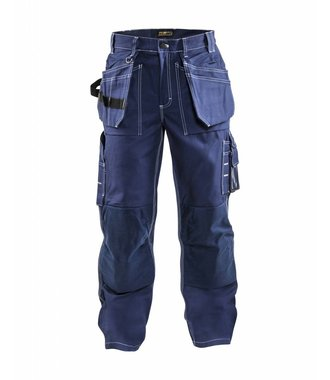 Pantalon Artisan Poches Libres : Marine - 153013708800