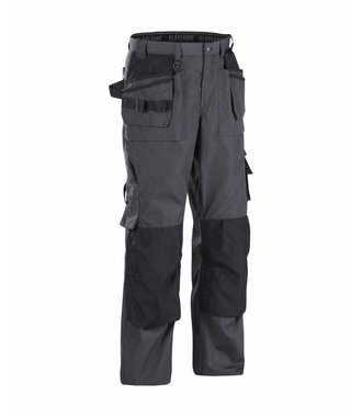 Pantalon Artisan été : Gris Foncé/Noir - 152518459899