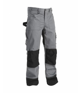 Trousers without Nailpockets Grey/Black