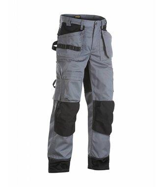 Pantalon artisan+ bicolore poches libres : Gris/Noir - 150418609499