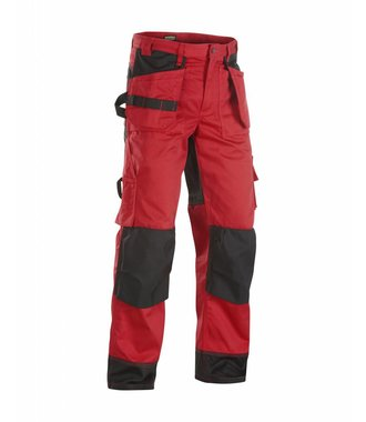 Trousers Red/Black