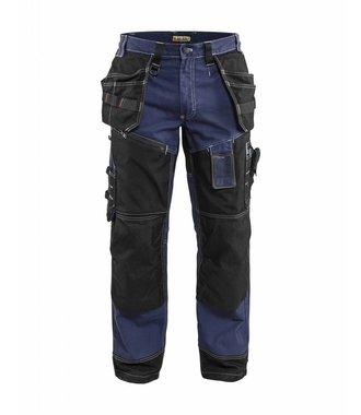 Trousers Craftsman X1500 Navy blue/Black