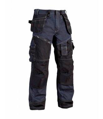 Bundhose Handwerker ´´X1500´´ : Marineblau/Schwarz - 150011408999