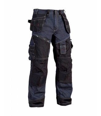 Trousers Craftsman X1500 Navy blue/Black