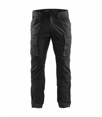 Pantalon Service avec panneaux Stretch : Noir - 145918459900