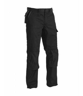 Pantalon Artisan poches italiennes : Noir/Gris - 140618609994