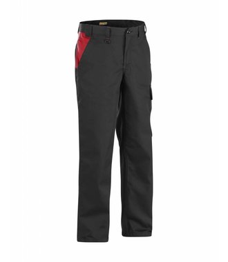 Industry trousers Black/Red