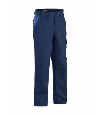 Werkbroek Industrie : Marineblauw/Korenblauw - 140418008985