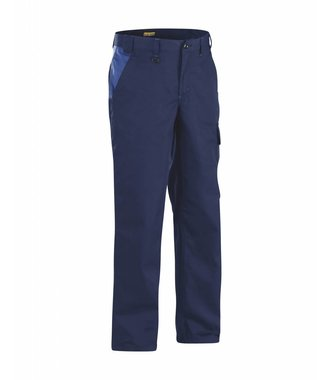 Industry trousers Navy blue/Royal blue
