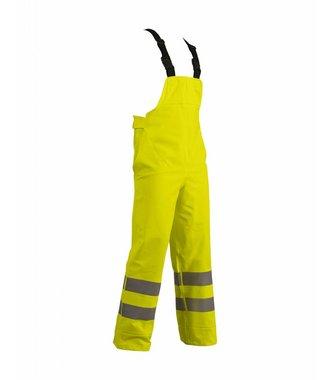 Rain bib trousers, heavy weight extreme Yellow