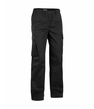 Pantalon Service Femme : Noir - 712018009900