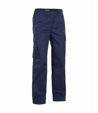 Dames werkbroek : Marineblauw - 712018008900
